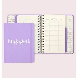 kate spade engaged bridal appointment calendar nwt